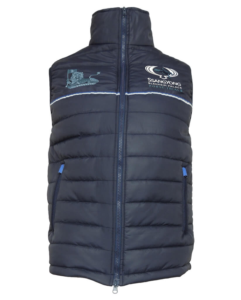 SsangYong Blenheim Palace Men's Quilted Gilet
