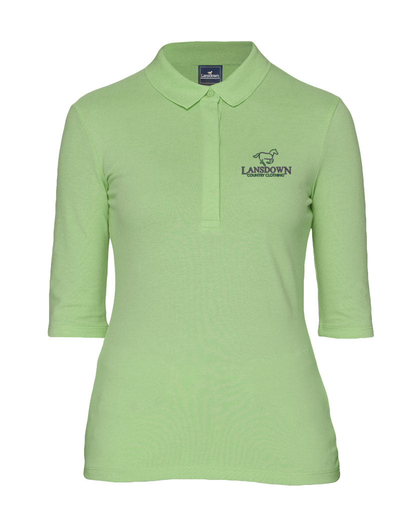 Essential Organic 1/2 Sleeve Polo Shirt - Green