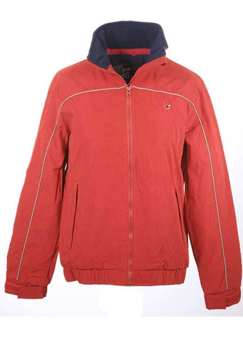 Hedley Blouson Jacket in Red Chilli