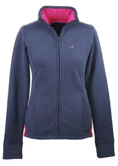 Hedley Full Zip Sweat in Slate