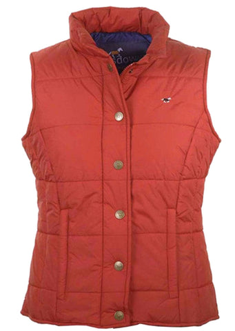 Hedley Gilet in Red Chilli