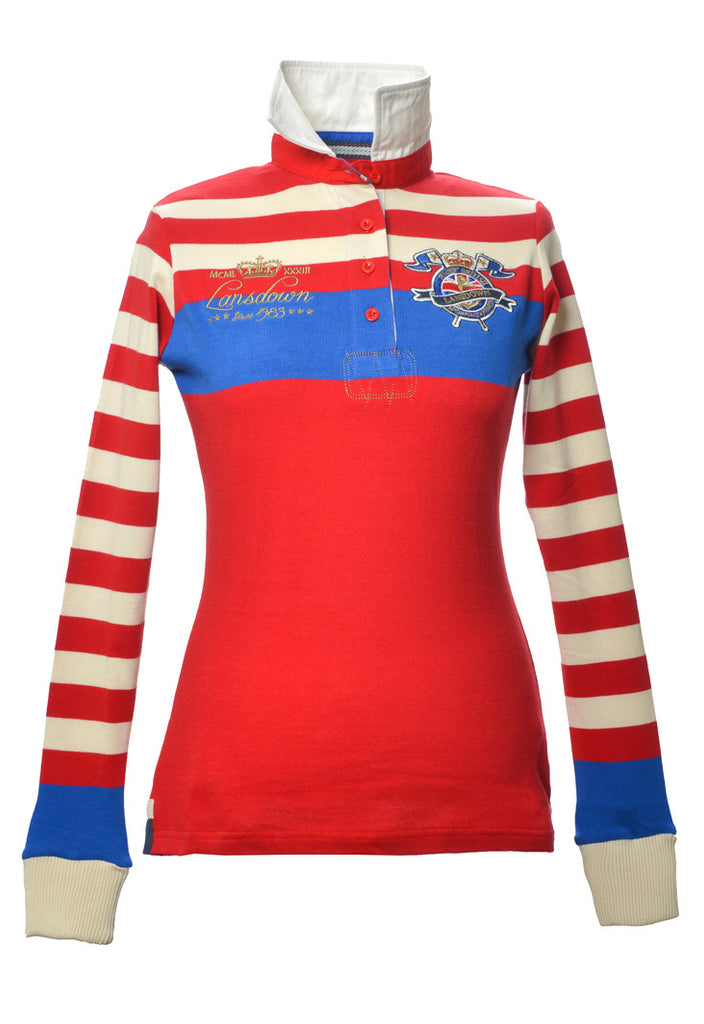 Wilmington Rugby Shirt Red