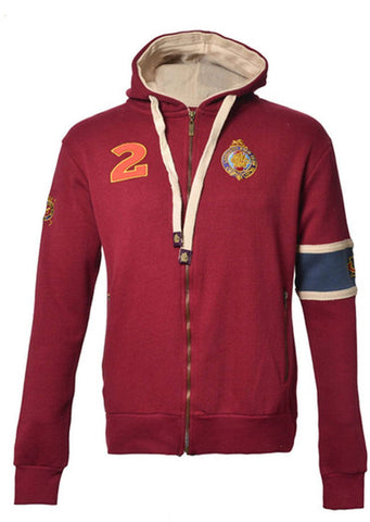 Men's Foxmoore Rumba Red Zip Hoodie