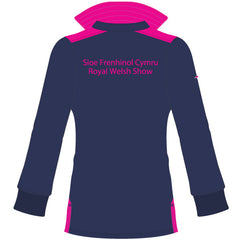 Royal Welsh Women's Rugby Shirt - Blue/Pink