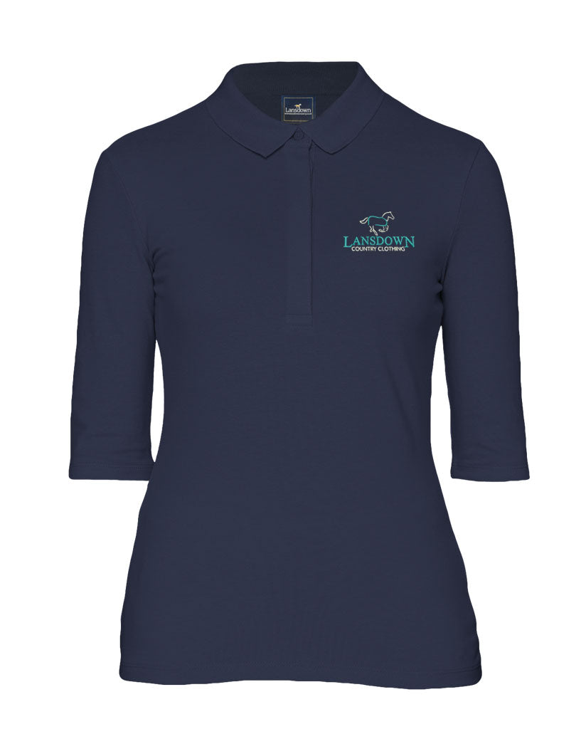 Essential Organic 1/2 Sleeve Polo Shirt - Navy