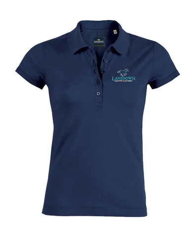 Essential Organic Short Sleeve Polo Shirt - Navy