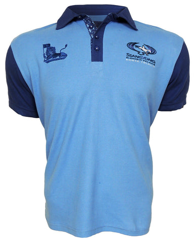 SsangYong Blenheim Palace Men's Polo Shirt