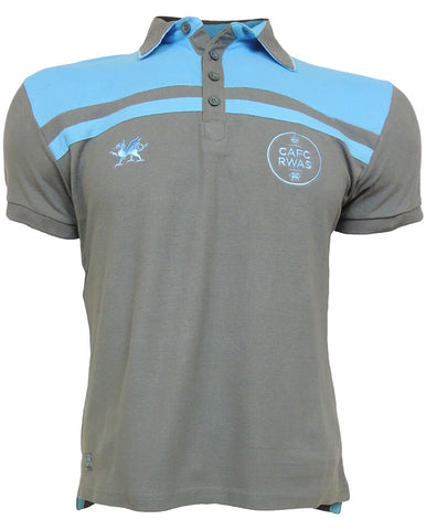 Royal Welsh Men's 'Ethereal' Polo Shirt