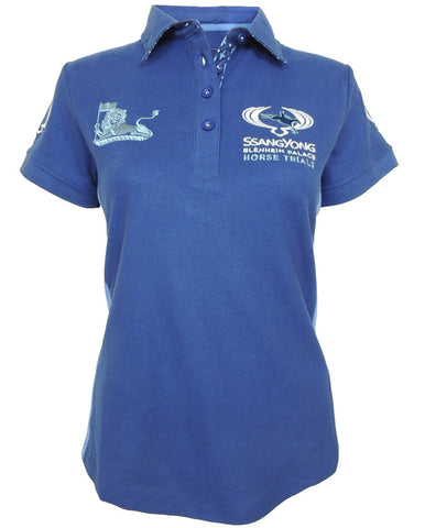 SsangYong Blenheim Palace Women's Polo Shirt - Navy