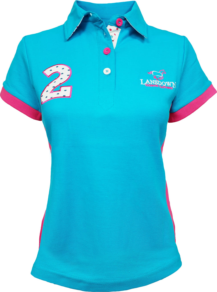 Lansdown Passion Women's Polo Shirt - Aqua