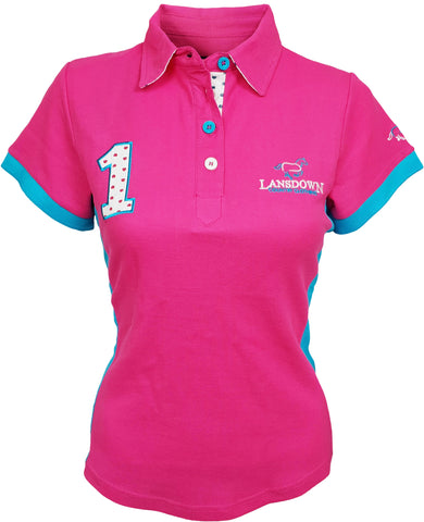 Lansdown Passion Women's Polo Shirt - Pink