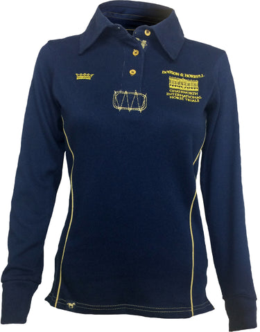 Chatsworth Women's Rugby Shirt - Navy