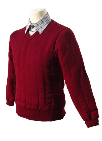 Heavyweight V Neck Country Jumper without Patches (BCA)