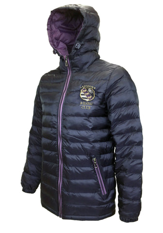 Berry Quilted Jacket
