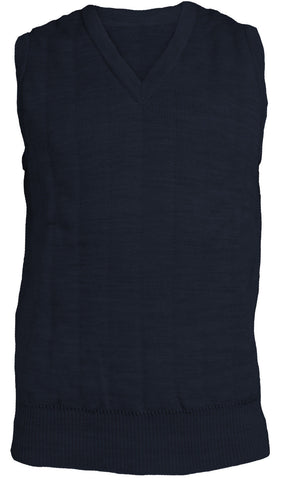 Lansdown Quiltknit Men's 3 Layer Sleeveless Slipover in Navy