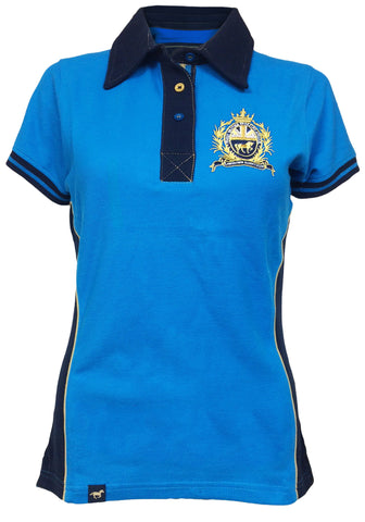 Devonshire Women's Dresden Blue Polo Shirt