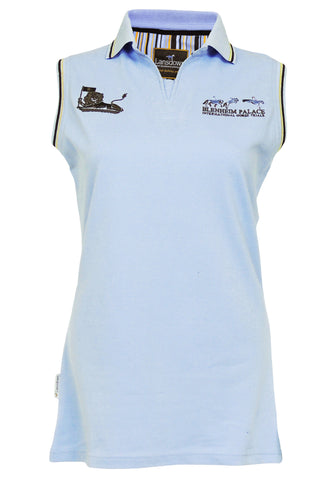 Blenheim Palace 17 Women's Sleeveless Polo Shirt