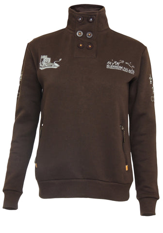 Blenheim Palace 17 Kid's Button Sweatshirt