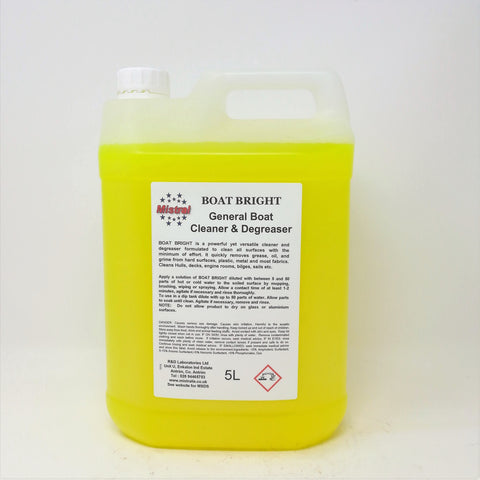 Boat Bright - General Boat Cleaner & Degreaser - Dissolves oil, grease and stains