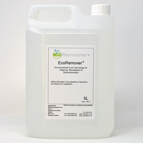 EcoRemover - Environmental Fluid Technology for Cleaning, Remedial & Decontamination