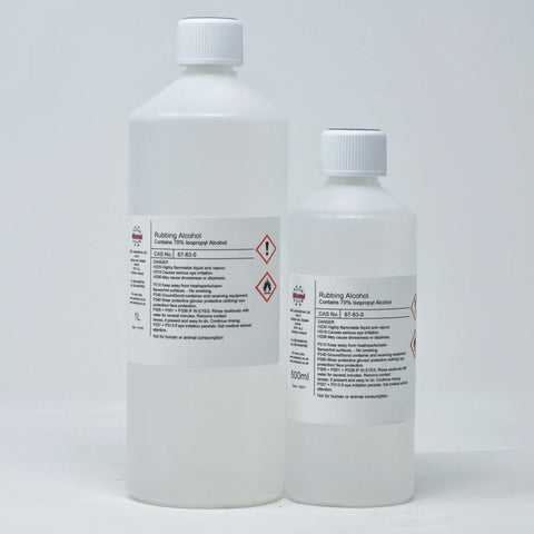Rubbing Alcohol - 70% Isopropyl Alcohol (IPA)
