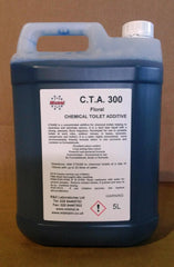 CTA300 - Chemical Toilet Fluid Additive Concentrate