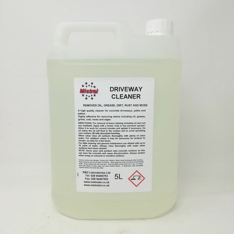 Concrete Driveway Cleaner & Oil Remover