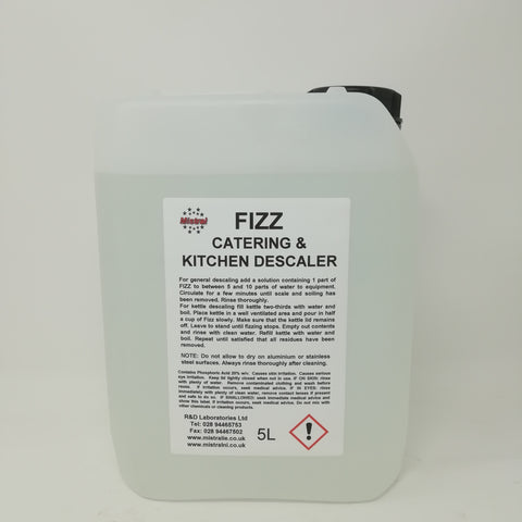 Descaler for Catering / Kitchen / Bathroom - Fizz