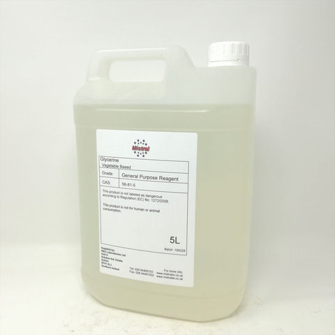Glycerin Oil / Glycerine / Glycerol - High Quality General Reagent Vegetable Grade