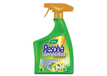 Resolva Lawn Weed Killer RTU Spray - Selective Weed Kill