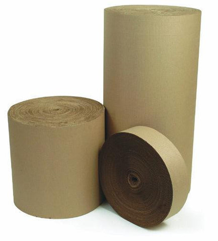 1200mm x 75m  Single Faced Corrugated Paper
