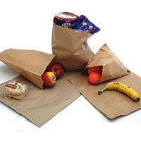"10"" x 10"" (254 x 254mm) Brown Kraft Paper Bags (Pack of 1000)"