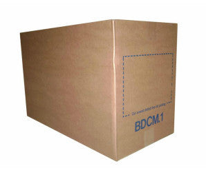25 BDCM1 Mail Order Brown Boxes (595 x 295 x 388 mm)