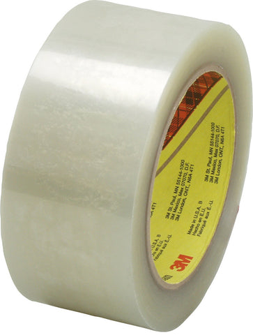 48mm x 66m Clear 3M Polypropylene Tapes (Pack of 6)