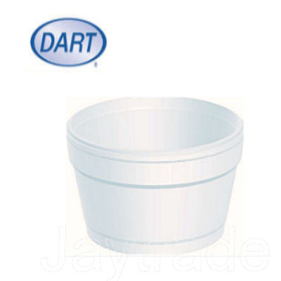 1000 4oz Foam Polystyrene Tubs
