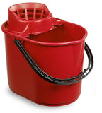 12 Litre Red Deluxe Mop Bucket (Pack of 10)
