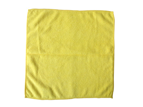 Yellow - General Purpose Microfibre (Pack of 10)