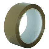 48mm x 66m Buff Standard Polypropylene Tapes (Pack of 6)