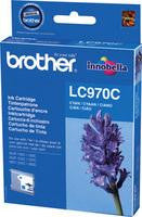 Brother Inkjet Cartridges Cyan LC-970C