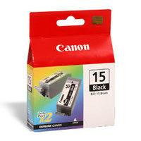 Canon Pixma Inkjet Cartridge Black Pack of 2 BCI-15BK