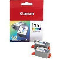 Canon Pixma Inkjet Cartridge Colour Pack of 2 BCI-15C