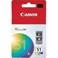 Canon Inkjet Cartridge Colour CL-51