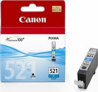 Canon Inkjet Cartridge 9ml Cyan CLI-521C