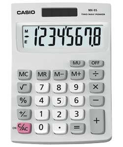 Casio desktop 8 digit calculator MX-85