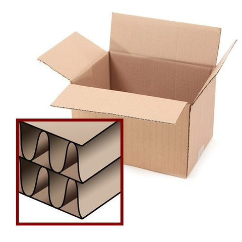 "15 DW Cartons 14"" x 10.25"" x 12"" (355 x 260 x 305 mm)"