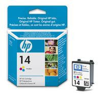 Hewlett Packard No14 3-Colour Inkjet Cartridge C5010DE