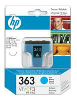 Hewlett Packard No363 Inkjet Cartridge Cyan C8771EE
