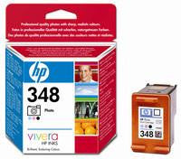 Hewlett Packard No348 Inkjet Cartridge Black/Cyan/Magenta C9369EE