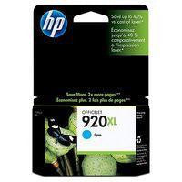 Hewlett Packard No920 XL Ink Cartridge Black CD975AE