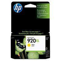 Hewlett Packard No920 XL Ink Cartridge Yellow CD974AE